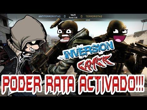 PODER RATA ACTIVADOOO!!! CS:GO - INVERSIÓN GAMER