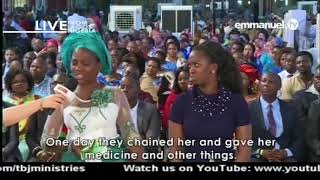 EMMANUEL TV LIVE SERVICE   SUNDAY 22 10 2017 PROPHET TB JOSHUA AT THE ALTER VIDEO 5 OF 10