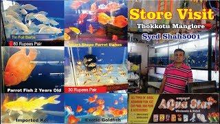 Aqua star fish store Manglore   Aquarium Fish store visiting 2019 #Aquarium Fish Shop tour