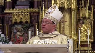 Abp Grzegorz Ryś podczas inauguracji IV Synodu Archidiecezji Łódzkiej