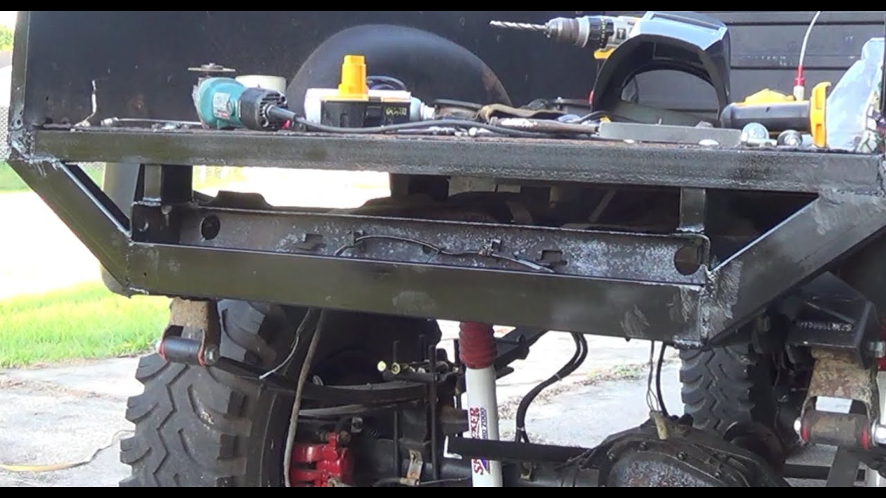 1978 F 150 Build Part 6 Bed And Back Bumper Pt 1 Youtube