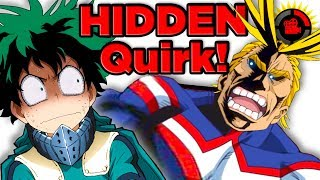 Film Theory: My Hero Academia - All Might's SECRET Quirk!