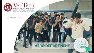 Teachers Day Celebration At Vel Tech