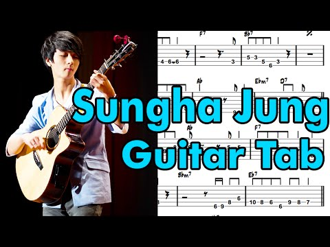 Guitar sungha jung guitar tabs : Metallica Nothing Else Matters Fingerstyle Guitar Tabs (Sungha Jung)