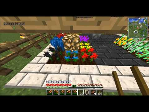 Tekkit! Tutorial Industrial Craft 2 Agriculture. How to Plant & Cross Breed Part 1