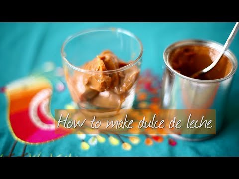 How to make dulce de leche   Video recipe