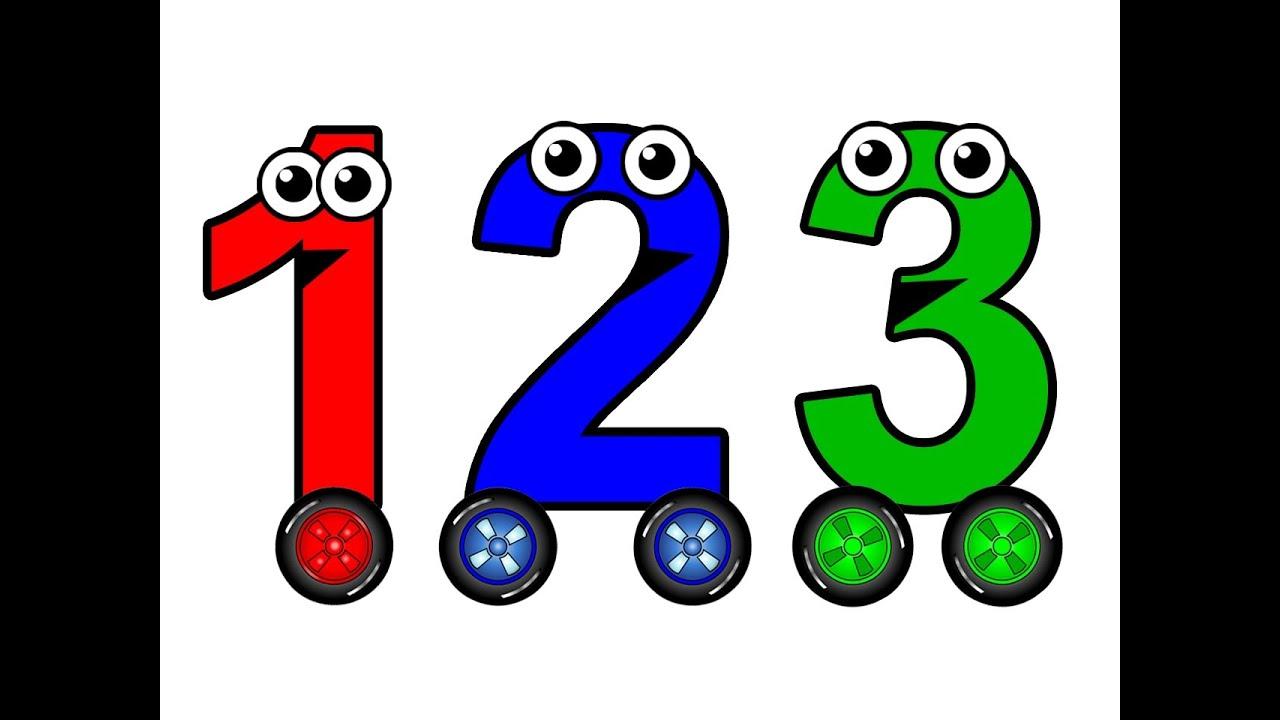 Số đếm 1-10 trong tiếng Anh