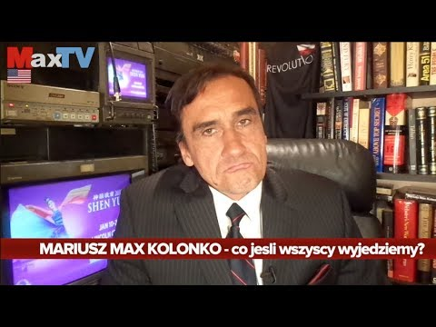Max Kolonko #R - Co Jeśli Wszyscy Wyjedziemy? Trailer PRACA - MaxTVGO