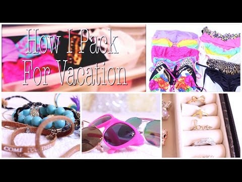 ☼ What To Pack For Vacation + Tips For Packing ☼ Part 1