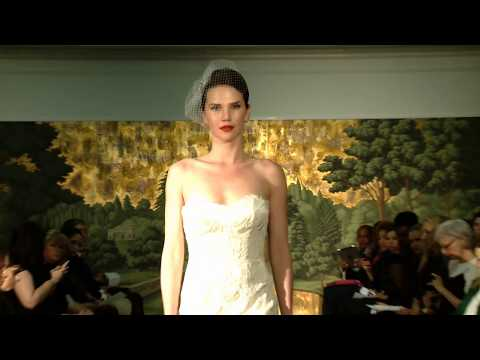 Anne Barge Spring 2014 - Couture Bridal Fashion Runway Video