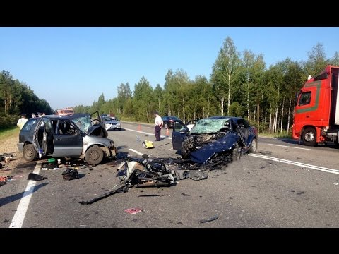 Crash compilation - August 2014