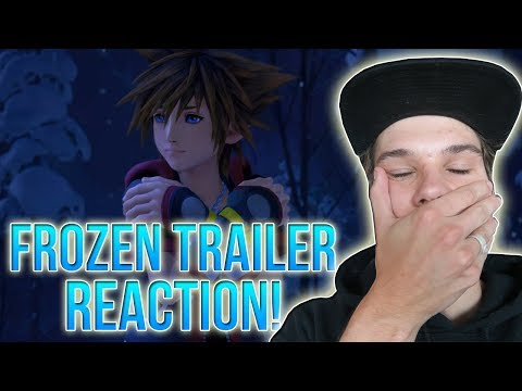 KINGDOM HEARTS 3 - FROZEN TRAILER REACTION (i'm sweating)