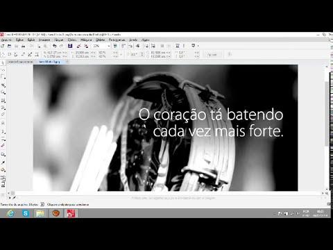 Como deixar uma foto em preto-branco no Corel Photo- Paint X7