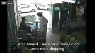 Robbery in Saudi Arabia Subtitles included)