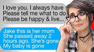 SADDEST TEXT MESSAGES EVER