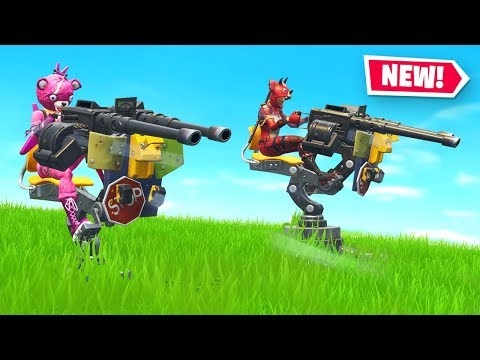 You can't BEAT this Mounted Turret STRATEGY in Fortnite ft. W2S, Alex & Tinny