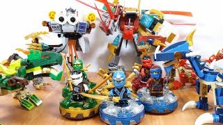 Trọn bộ Lego Ninjago và các robot rồng dragon brick toy for kids đồ chơi trẻ em