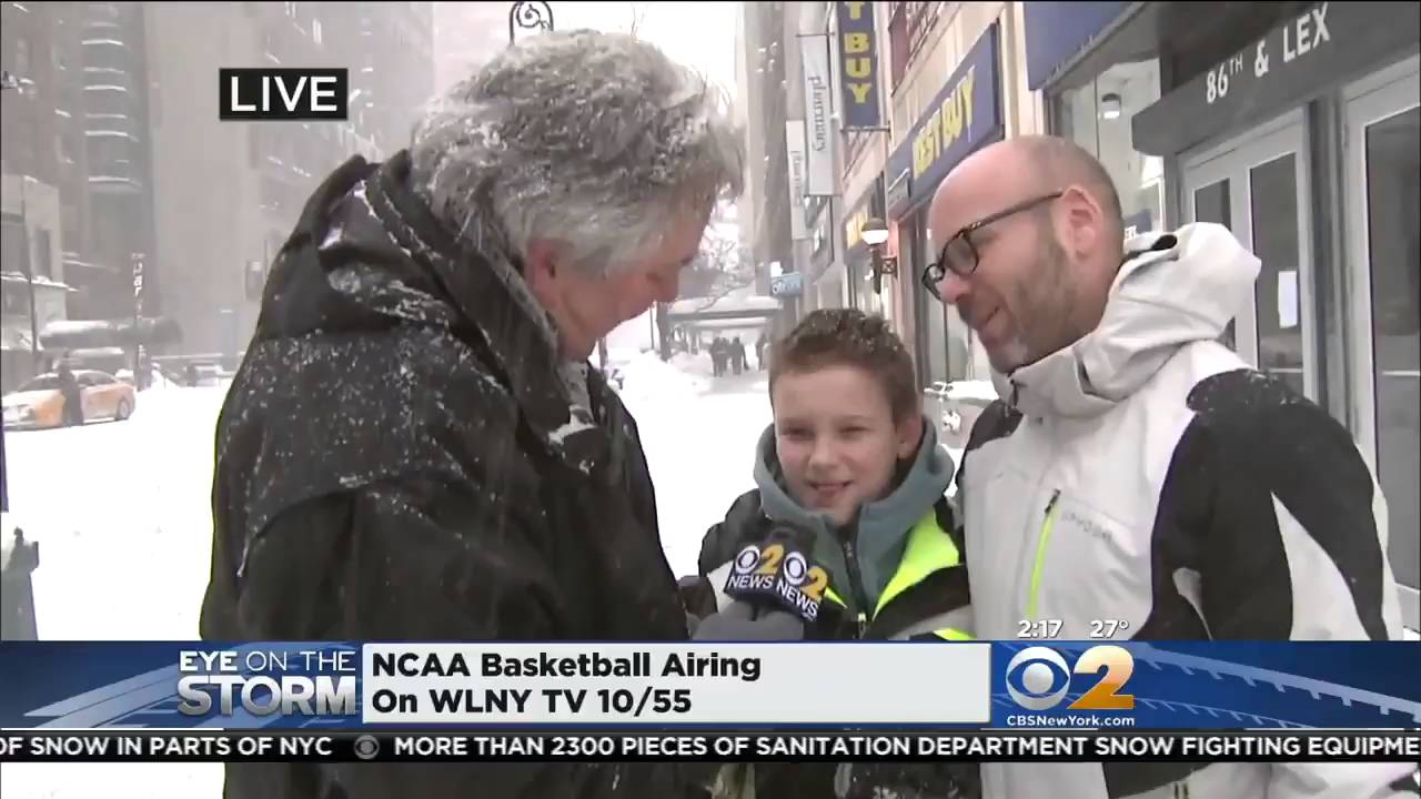 Awkward Moment Reporter Didn't Know Why Teen Boy Asked Dad For Hand Lotion