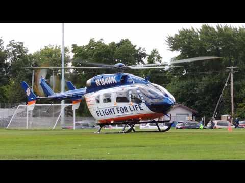 Flight for Life at Menomonee Falls High School