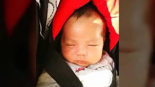 Baby car ride, facial expressions Matthew Yzrael Morales 22/04/19