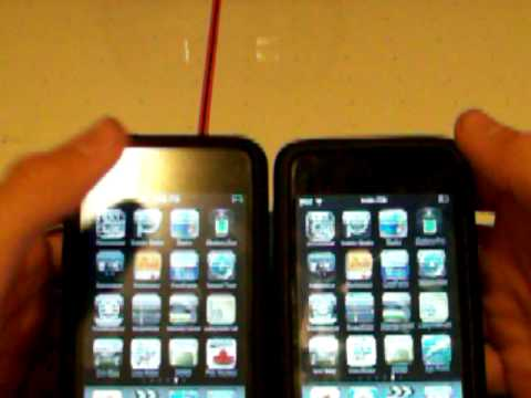iPod Touch 2g vs iPod Touch 3g