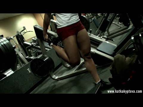 Short clip from Legs workout