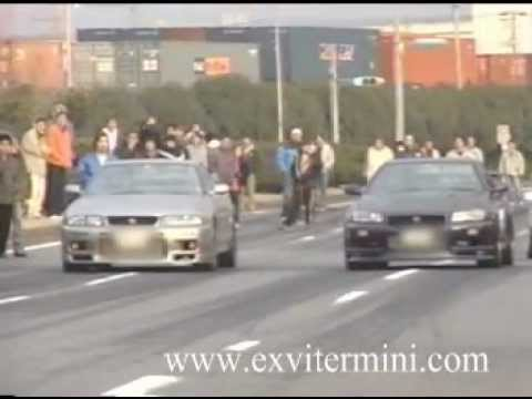 illegal street racing in japan