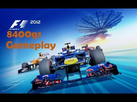 F1 2012: Derrotando Alonso (8400gs gameplay)