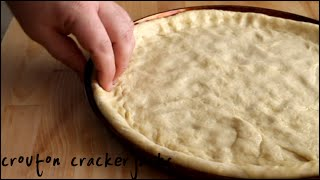 Homemade Pizza Crust (Dough) from Scratch - Easy Recipe