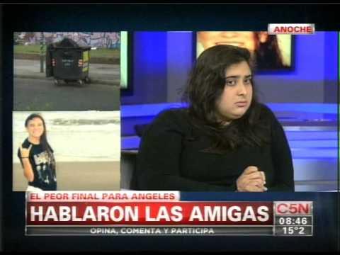 C5N - CRIMEN DE ANGELES RAWSON: HABLARON SUS COMPAÑEROS EN HD