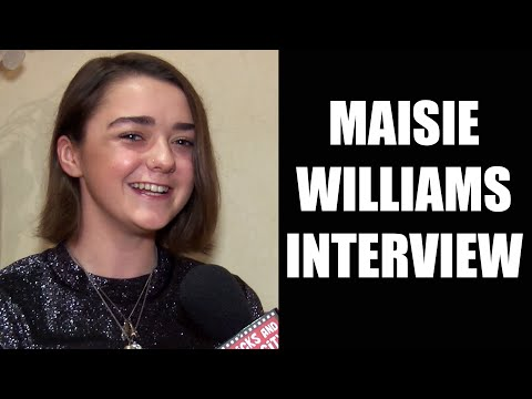 Maisie Williams Interview - The Falling, Game of Thrones, New Movies & TV Series