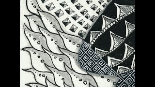 Zentangle® Ensemble: Tile 5 of 9
