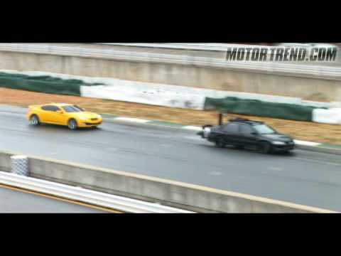 Drifting The Genesis! - Hyundai Genesis Coupe Super Bowl Shoot