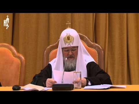 Патриарх Кирилл о присутствии священников в медиапространстве