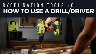 How to Use a Drill/Driver
