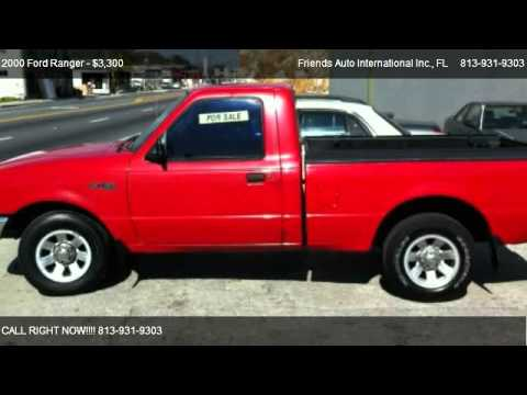 2000 Ford Ranger XL Short Bed 2WD - for sale in Tampa, FL 33604