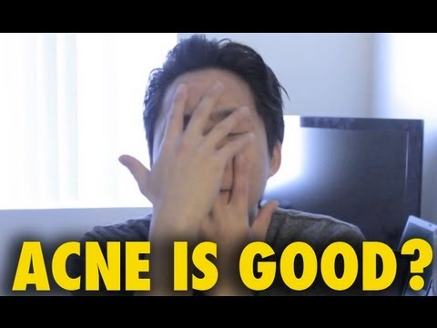 ACNE IS GOOD?! vlog
