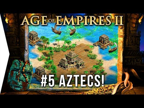 I'm still learning! - Age of Empires 2 HD ► #5 The Boiling Lake - [AoE Aztec Campaign Gameplay]