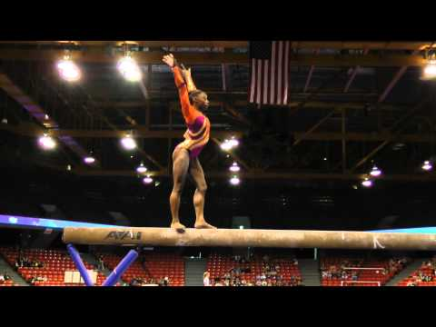 Simone Biles - Beam - 2012 U.S. Secret Classic