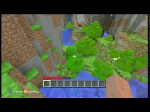 Minecraft XBOX 360 Edition EPIC Seed Code : Towers in the Sky! (gargamel)