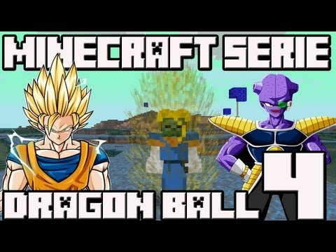 Minecraft 1.4.7 MINI-SERIE Mod Dragon Ball!! Cap.4