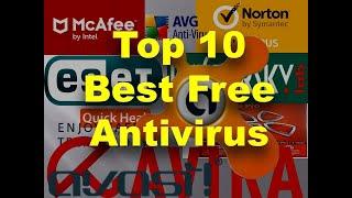 Top ten best free antivirus | Avast Free antivirus | free antivirus for windows | Kaspersky free an