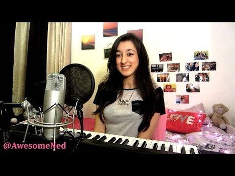 Lala Land - Demi Lovato (cover By Nadia With Piano) video
