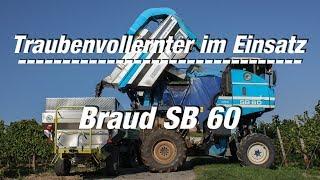 Traubenvollernter im Einsatz: (Folge 3) Braud SB 60 (FULL HD Film)