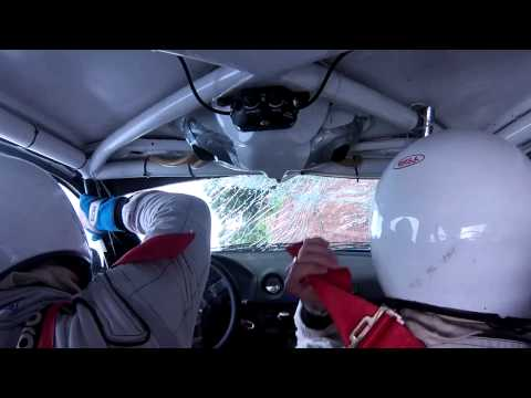 Onboard Capotagem Vanderlei Carminatti/Robson Giacomel - Rally de Canela 2013