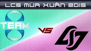 Video clip [29.03.2015] T8 vs CLG [LCS NA Xuan 2015]