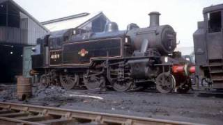 UK Steam in the 1960s in colour