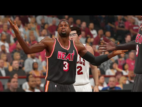 NBA 2K15 PS4 Ranked - Bulls Vs. Heat