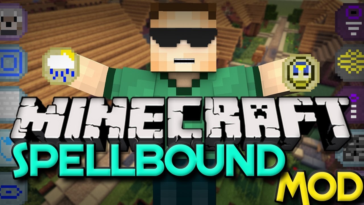 Minecraft Mods Spellbound Mod: MAGICAL TABLETS (1 6 4) YouTube