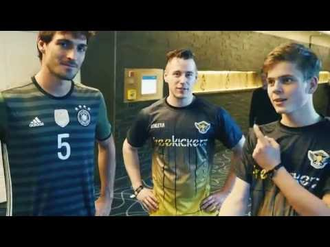 freekickerz vs Mats Hummels - Back-Spin Football Challenge